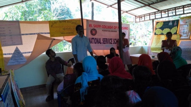 NSS Special camp on 17-03-2018 Nutritional health programme at Vellila Mankada