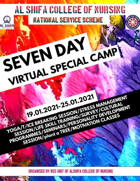 Nss Seven Day Special Virtual Camp