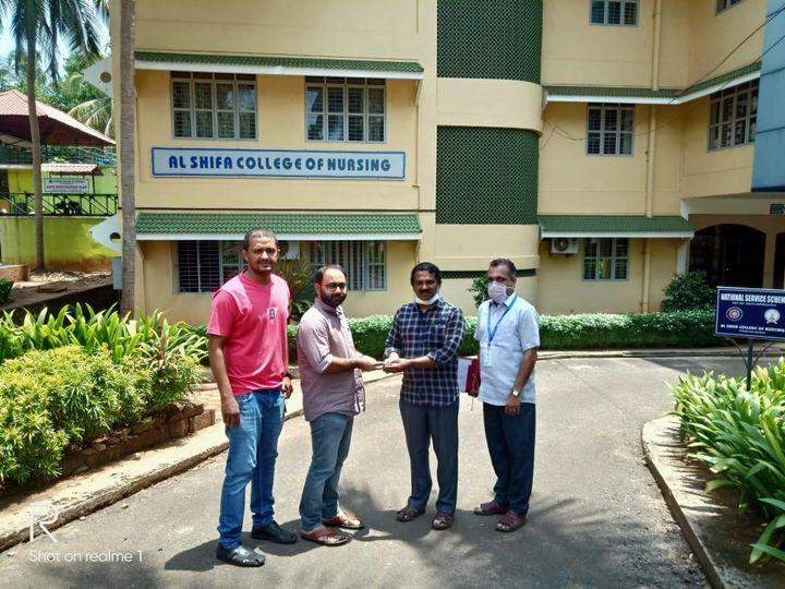 A helping hand from our part, handing over the hostel as 'QUARANTINE CENTRE' for fighting against COVID-19
